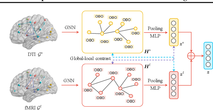Figure 1 for Joint Embedding of Structural and Functional Brain Networks with Graph Neural Networks for Mental Illness Diagnosis