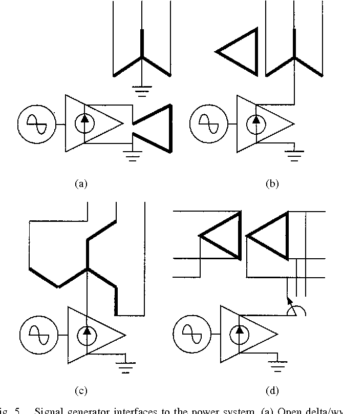 figure 5 from ground fault protection for an ungrounded system rh semanticscholar org Generac Generator Wiring Diagrams 12 Lead Generator Wiring Diagrams