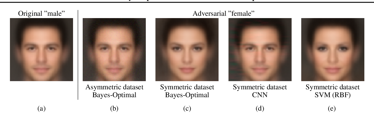 Figure 1 for A Bayes-Optimal View on Adversarial Examples