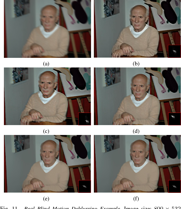 Figure 3 for Graph-Based Blind Image Deblurring From a Single Photograph