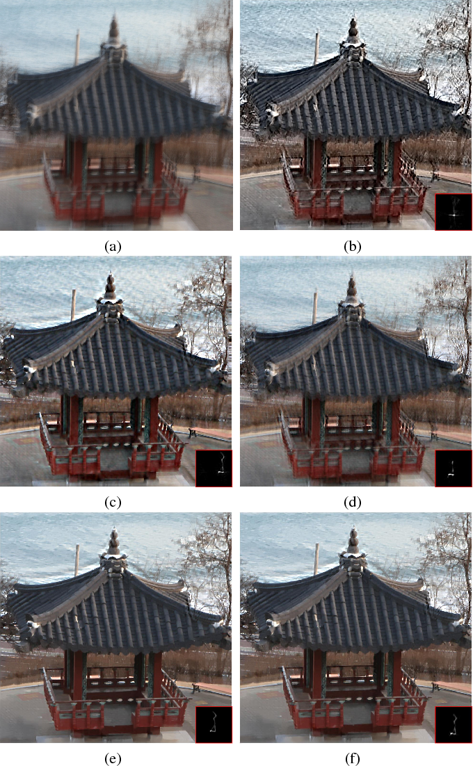 Figure 4 for Graph-Based Blind Image Deblurring From a Single Photograph