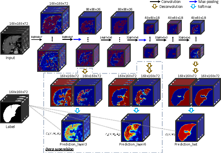 Figure 1 for 3D Deeply Supervised Network for Automatic Liver Segmentation from CT Volumes