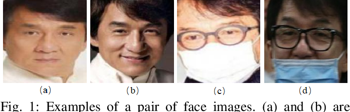 Figure 1 for Masked Face Recognition Dataset and Application