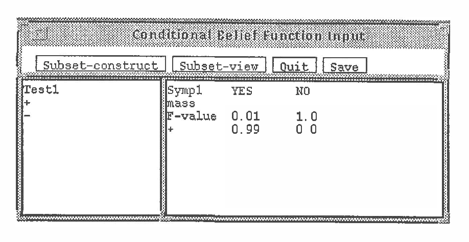 Figure 4 for A Belief-Function Based Decision Support System