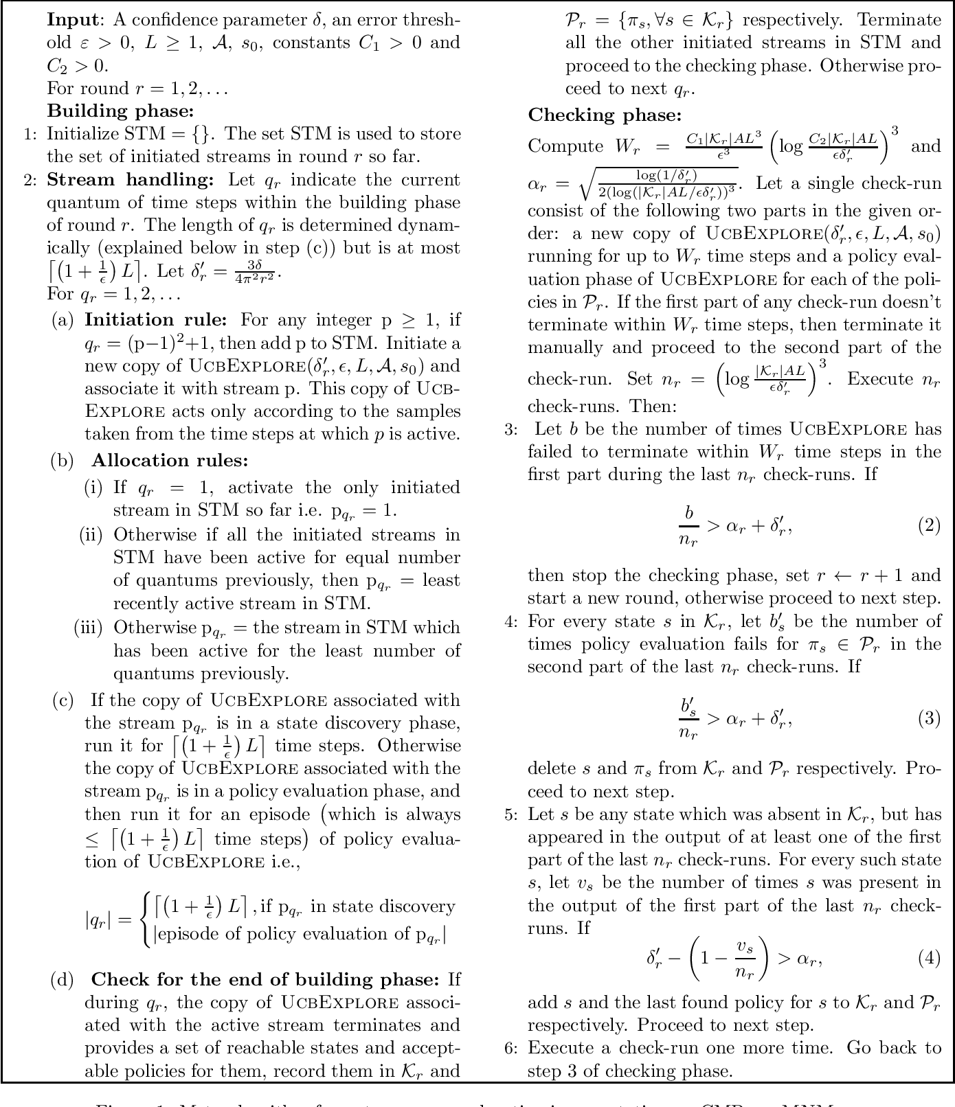Figure 1 for Autonomous exploration for navigating in non-stationary CMPs