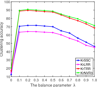 Figure 4 for Fast Subspace Clustering Based on the Kronecker Product