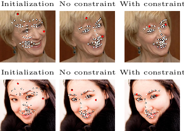 Figure 4 for Robust Face Alignment Using a Mixture of Invariant Experts