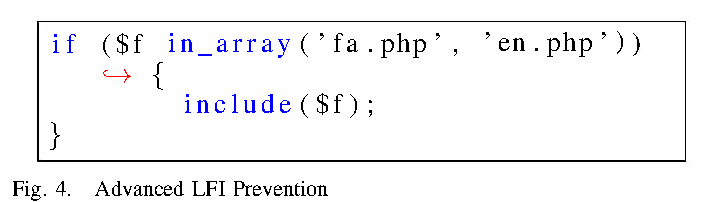 A sound framework for dynamic prevention of Local File