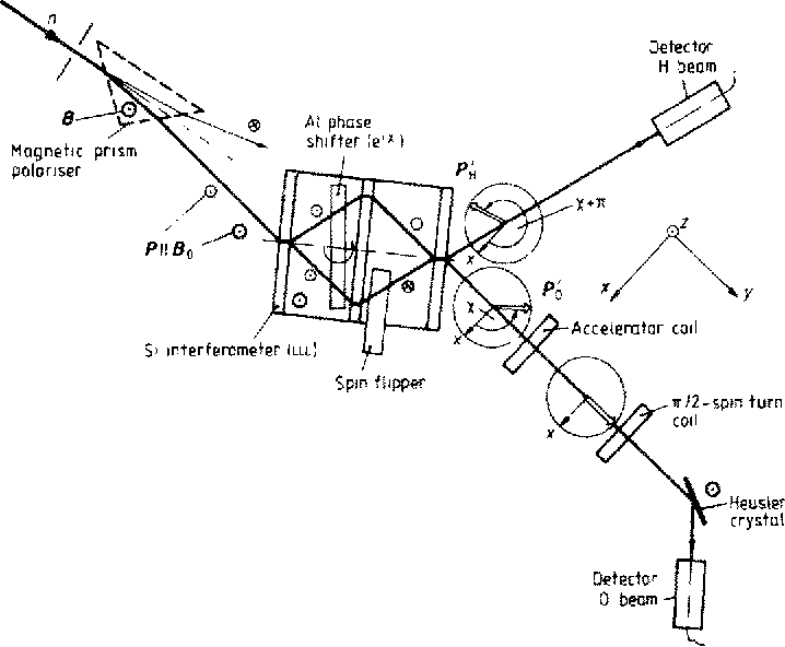 Abstract For Single Particle Trajectories And Interferences In