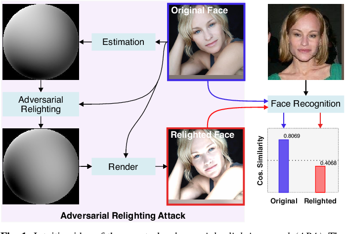 Figure 1 for Adversarial Relighting against Face Recognition