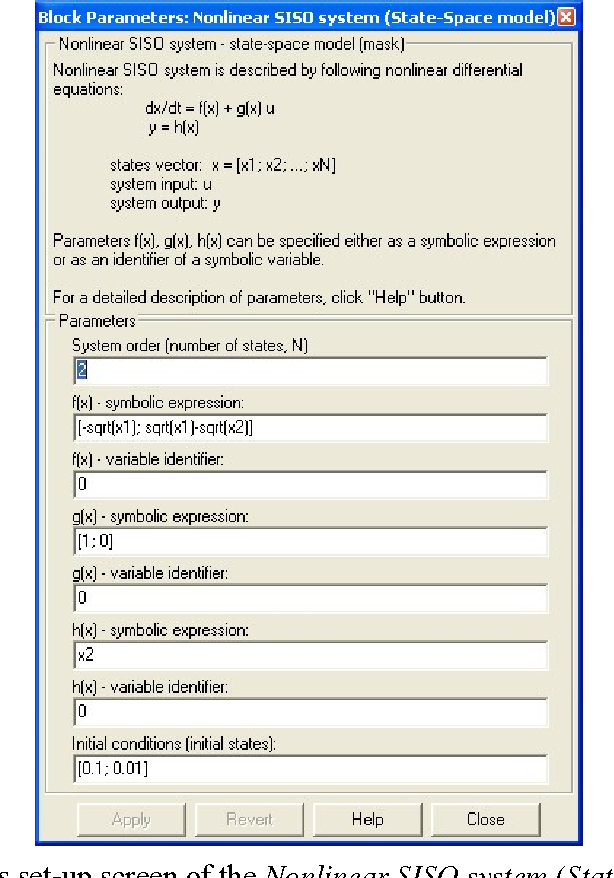 PDF] MATLAB-BASED TOOLS FOR NONLINEAR SYSTEMS - Semantic Scholar