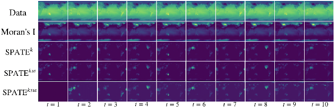 Figure 3 for SPATE-GAN: Improved Generative Modeling of Dynamic Spatio-Temporal Patterns with an Autoregressive Embedding Loss