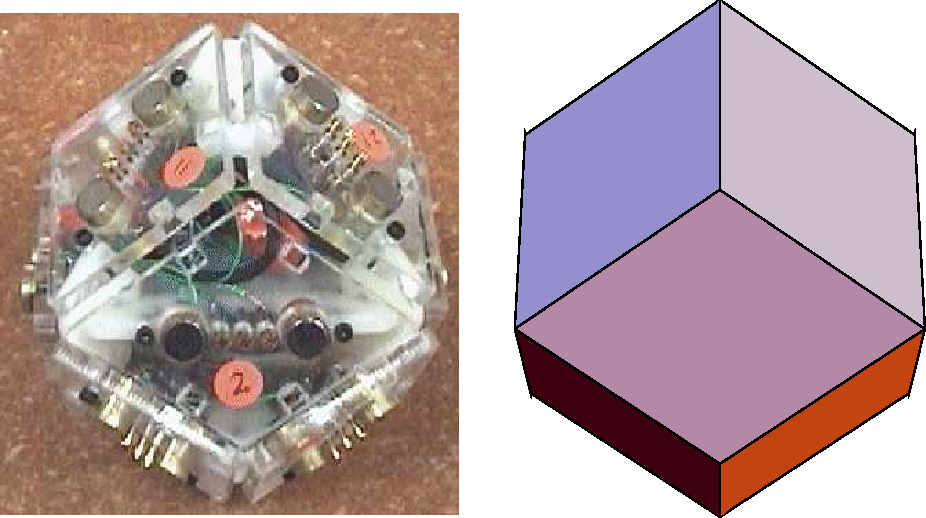 Figure 1 for Multiagent Control of Self-reconfigurable Robots