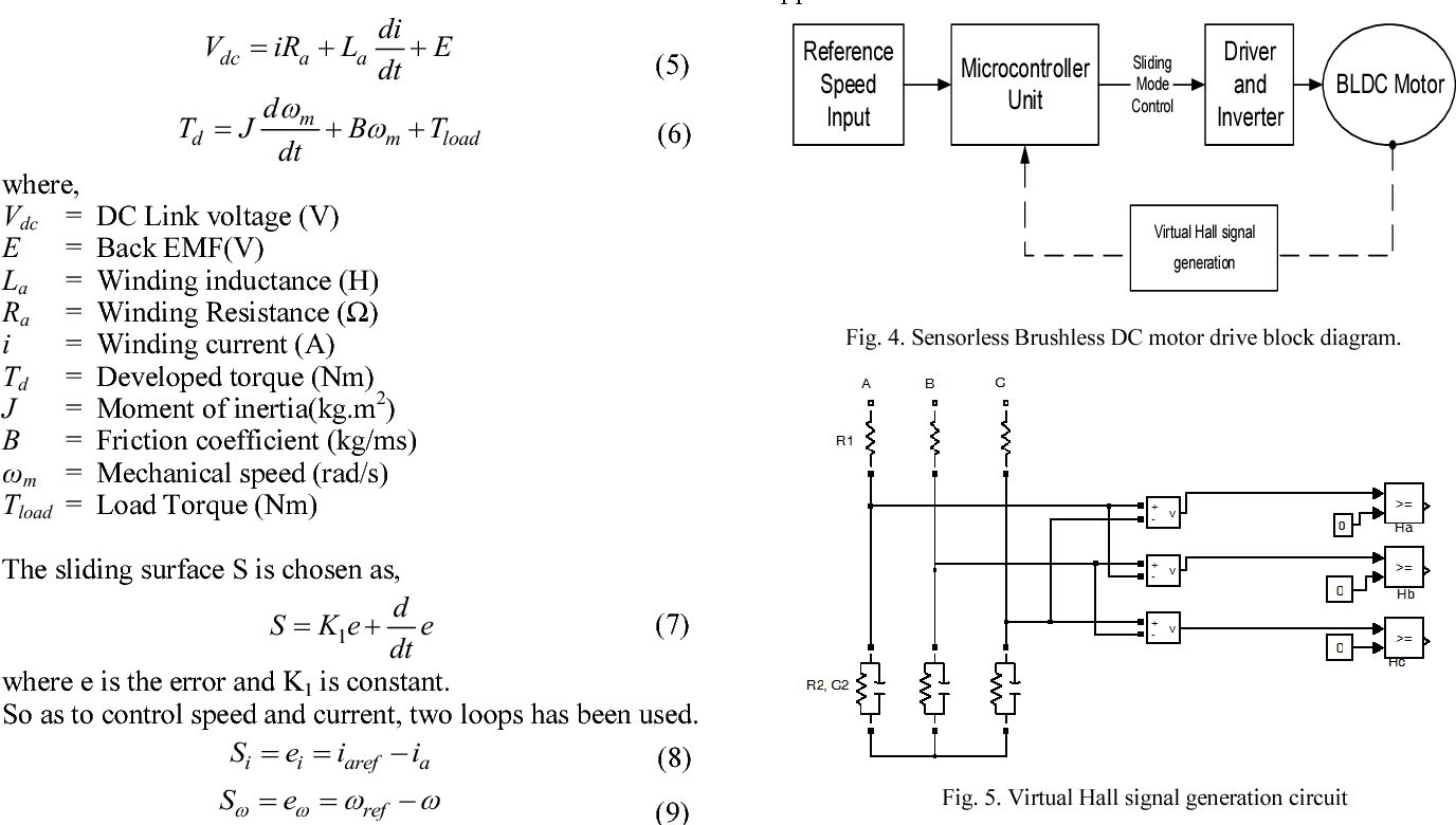 figure 4 from a low cost position sensorless brushless dc motor