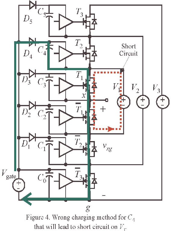 A Low-Cost Gate Driver Design Using Bootstrap Capacitors for