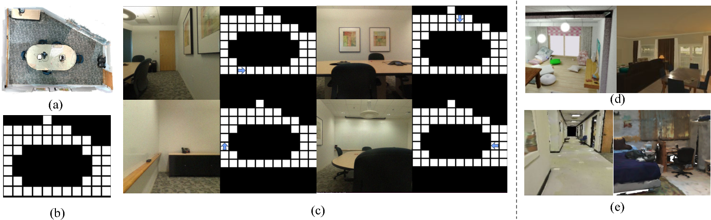 Figure 2 for The AdobeIndoorNav Dataset: Towards Deep Reinforcement Learning based Real-world Indoor Robot Visual Navigation