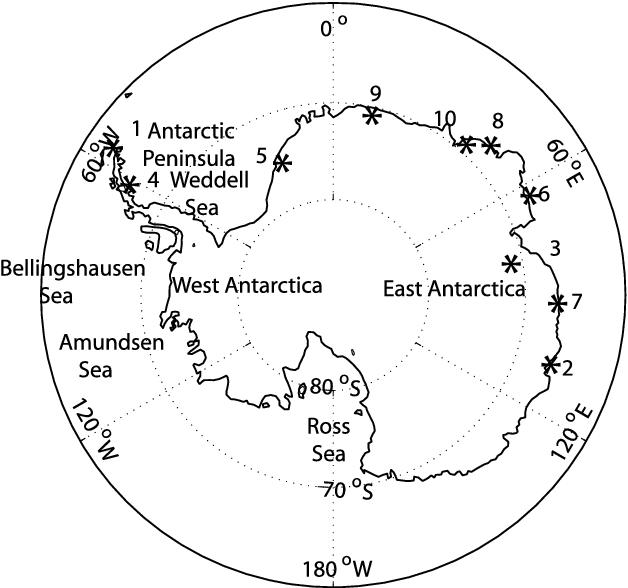 Validation of ECMWF and NCEP-NCAR reanalysis data in Antarctica