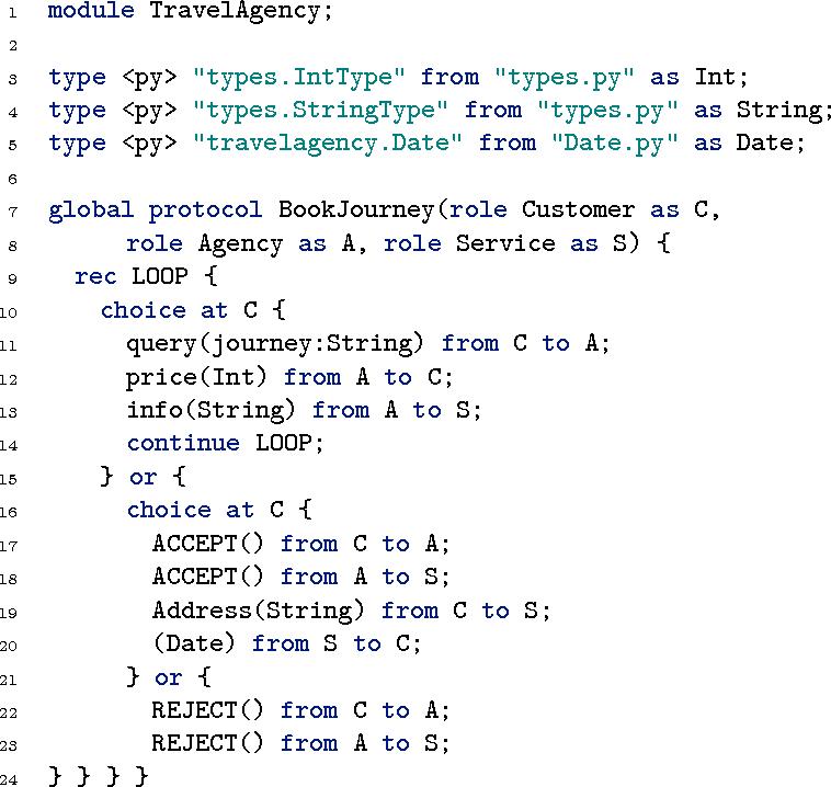 Figure 2 from The Scribble Protocol Language - Semantic Scholar