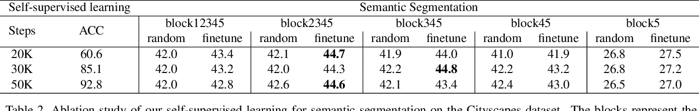 Figure 4 for Self-supervised Learning with Fully Convolutional Networks