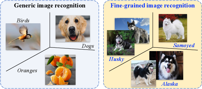 Figure 1 for Deep Learning for Fine-Grained Image Analysis: A Survey