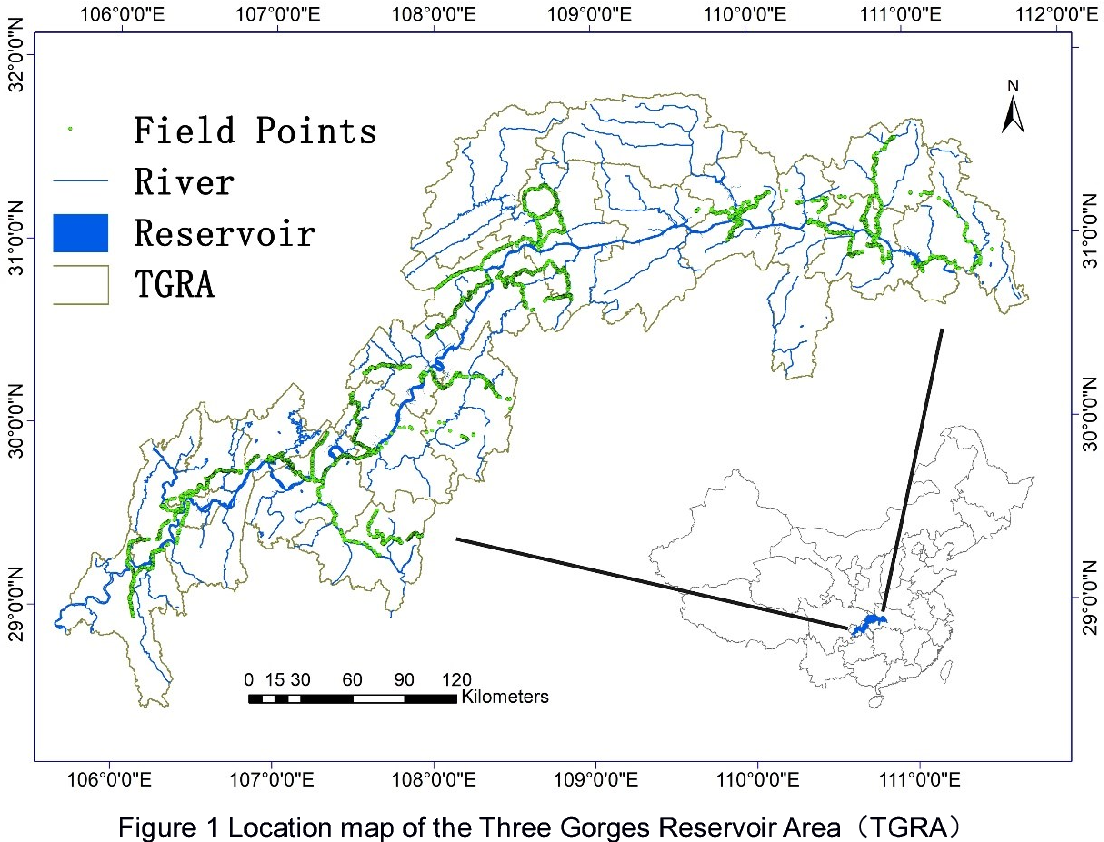 Figure 1 for Land use mapping in the Three Gorges Reservoir Area based on semantic segmentation deep learning method