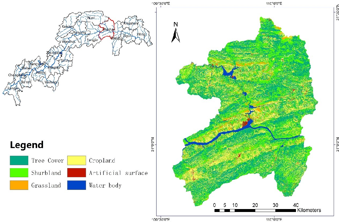 Figure 3 for Land use mapping in the Three Gorges Reservoir Area based on semantic segmentation deep learning method