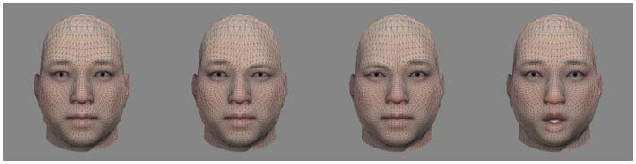 Figure 4 for Audio2Face: Generating Speech/Face Animation from Single Audio with Attention-Based Bidirectional LSTM Networks