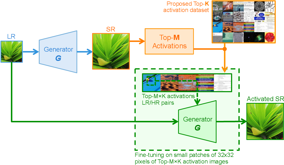 Figure 4 for Test-Time Adaptation for Super-Resolution: You Only Need to Overfit on a Few More Images