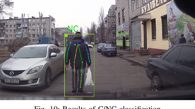 Figure 2 for Is the Pedestrian going to Cross? Answering by 2D Pose Estimation