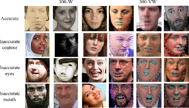 Figure 1 for The Blessing and the Curse of the Noise behind Facial Landmark Annotations