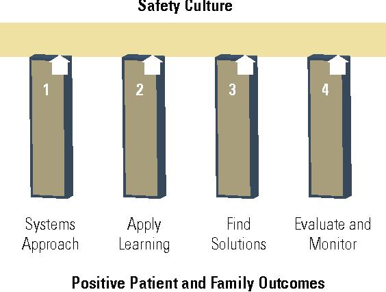 Figure 1. Toronto Rehab Patient Safety SAFE Framework