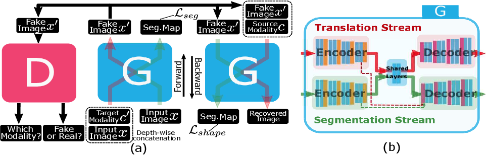 Figure 1 for Unified Attentional Generative Adversarial Network for Brain Tumor Segmentation From Multimodal Unpaired Images