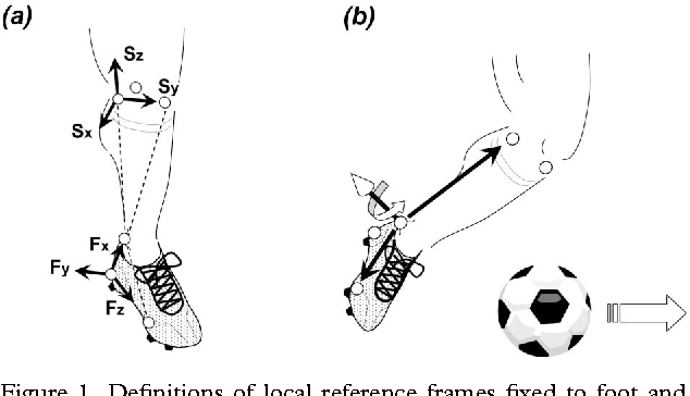 figure 1 from impact phase kinematics of instep kicking in soccer