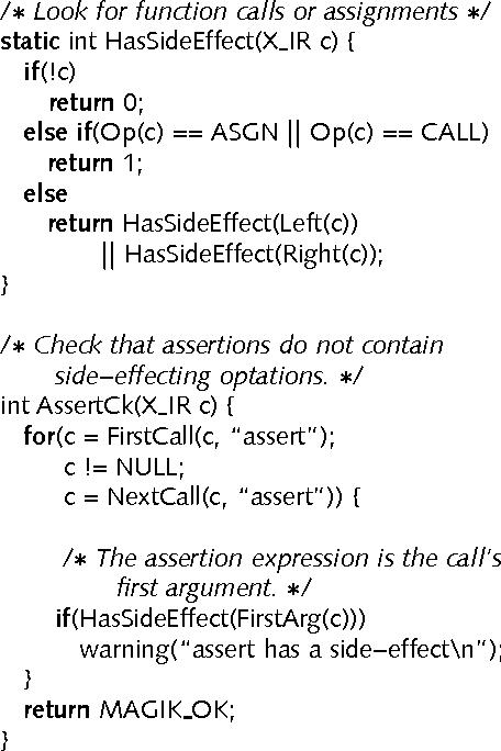 Incorporating Application Semantics and Control into