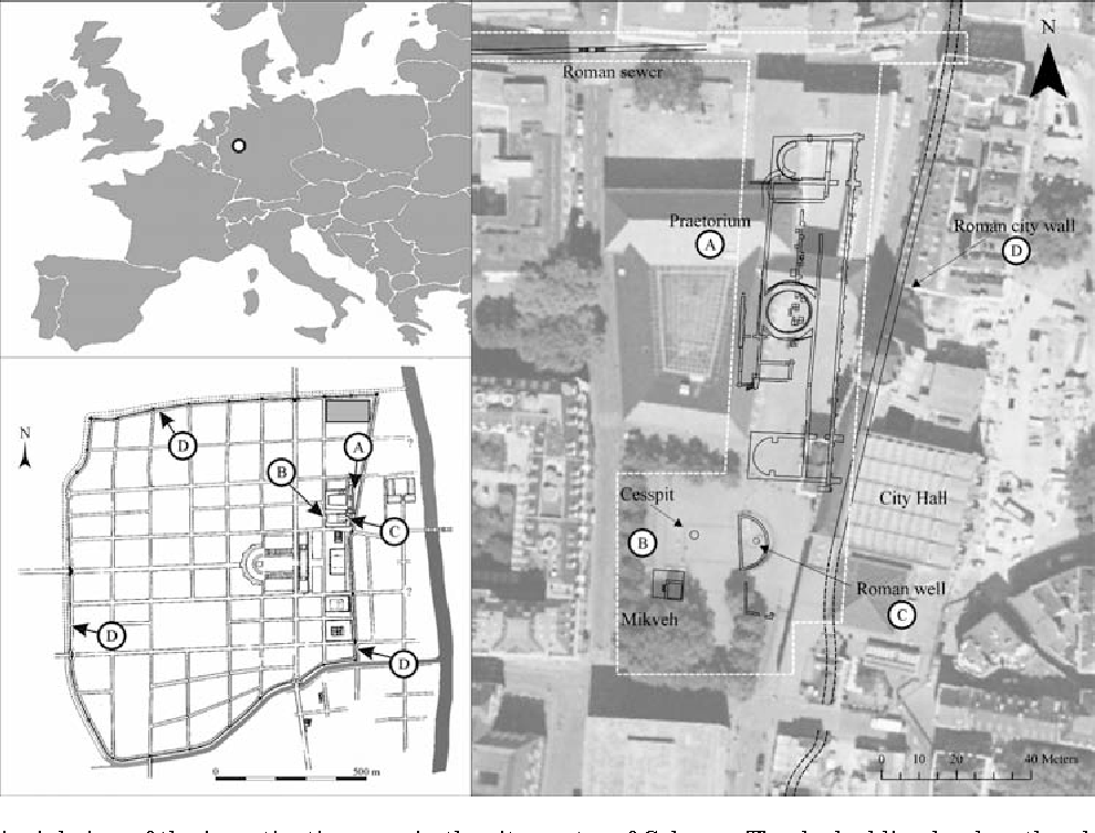 Figure 1 from Excavation-parallel laser scanning of a medieval ...