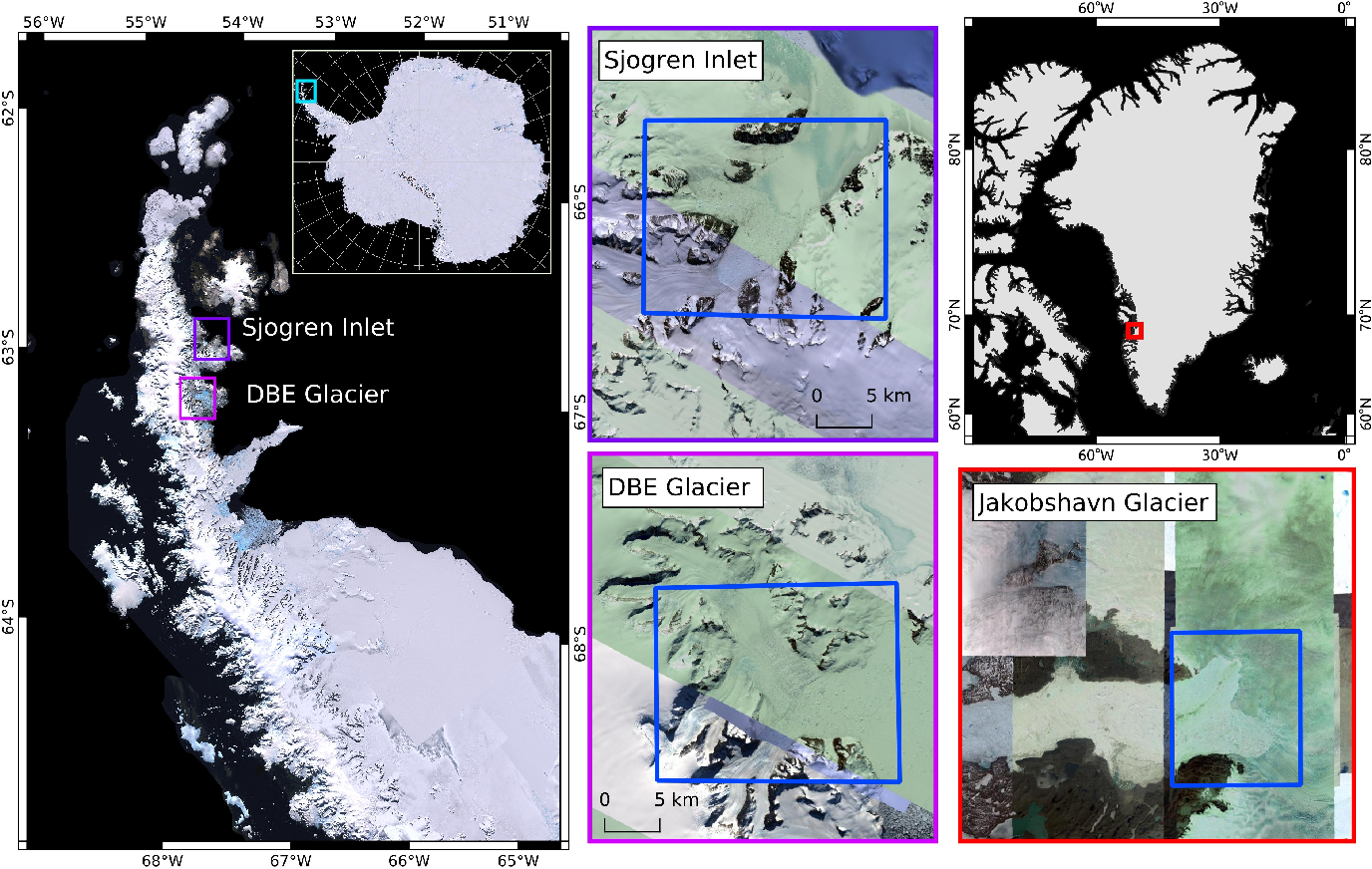 Figure 4 for On Mathews Correlation Coefficient and Improved Distance Map Loss for Automatic Glacier Calving Front Segmentation in SAR Imagery