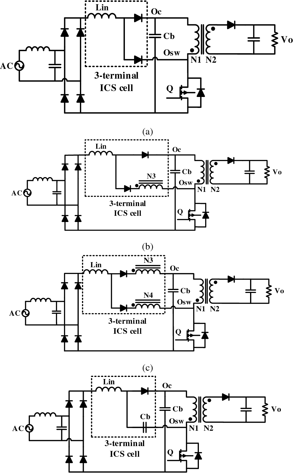 A Single Phase Stage Ac Dc Stacked Flyback Converter With Circuits Power Supply Forward Transformerless To Active Clamp Zvs Semantic Scholar