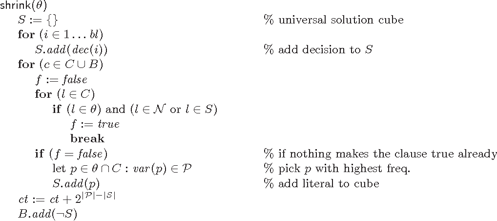 Figure 3 for Projected Model Counting