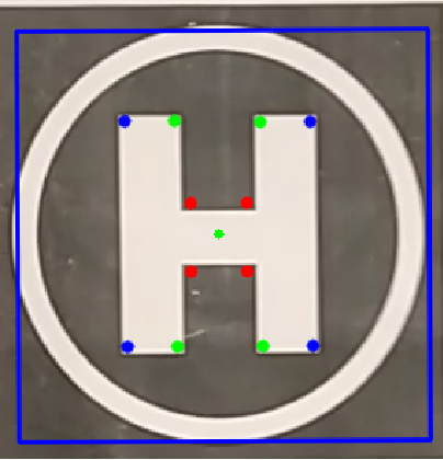 Figure 2 for Real-time and Autonomous Detection of Helipad for Landing Quad-Rotors by Visual Servoing