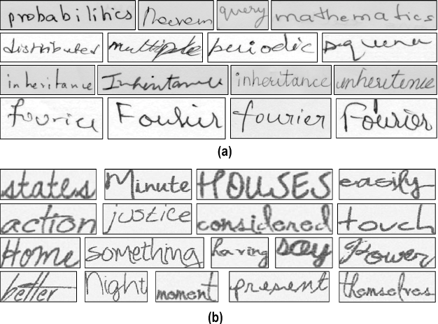 Figure 4 for Matching Handwritten Document Images