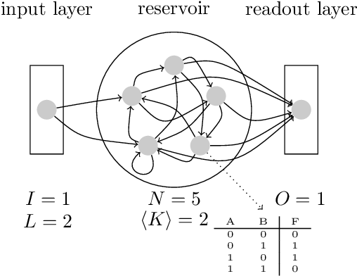 Figure 1 for Computational Capabilities of Random Automata Networks for Reservoir Computing