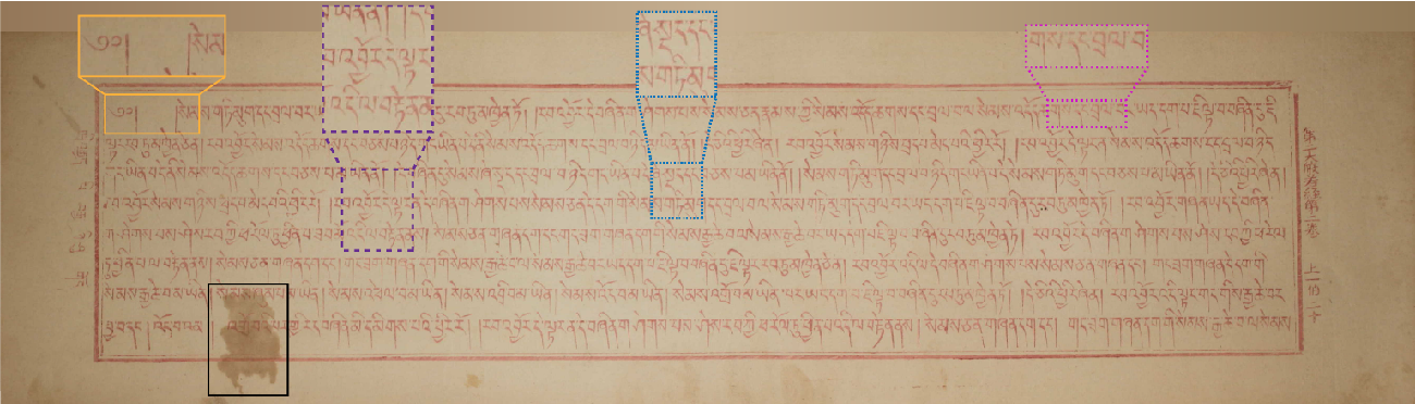 Figure 3 for Accurate Fine-grained Layout Analysis for the Historical Tibetan Document Based on the Instance Segmentation