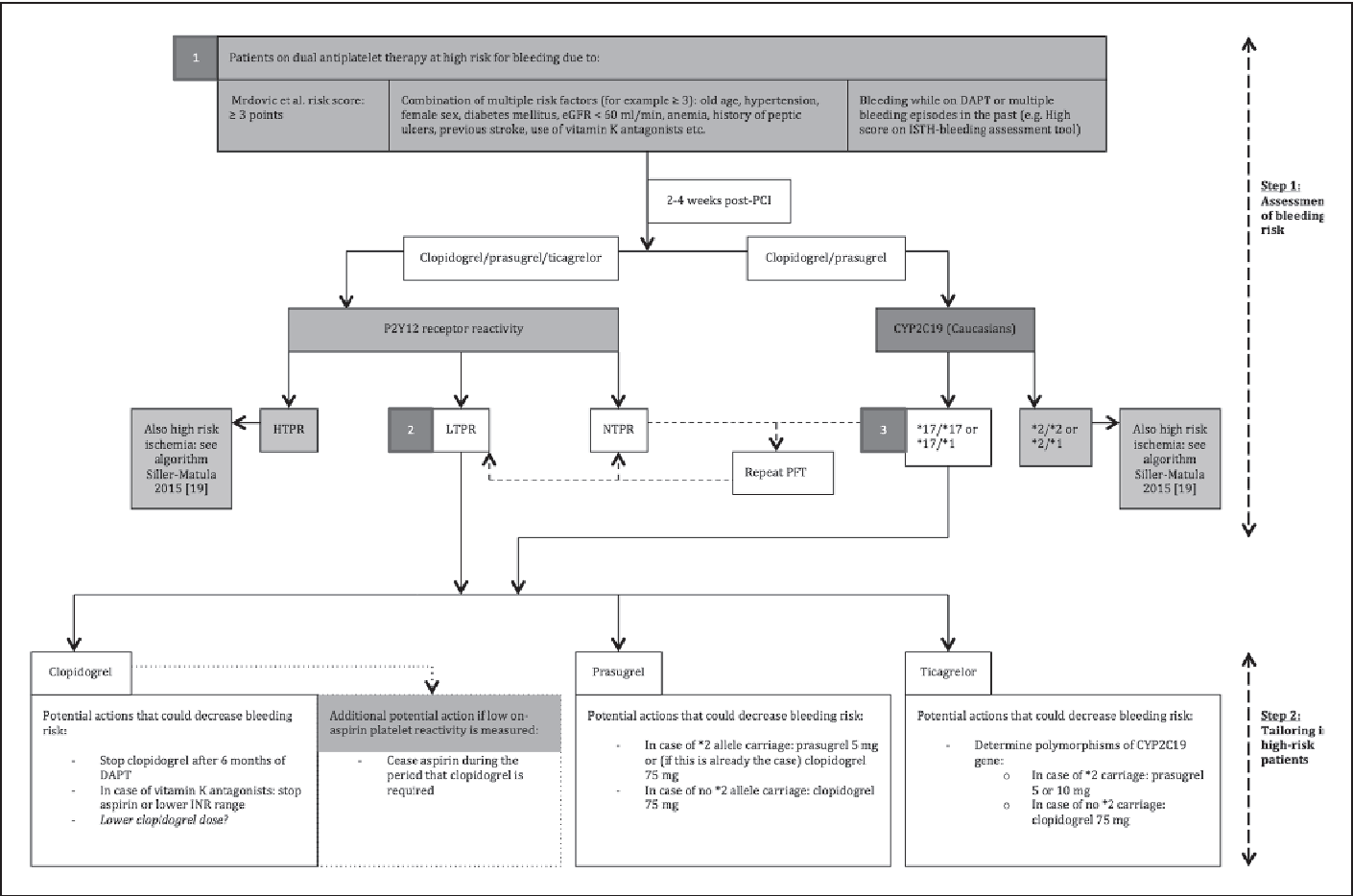 Figure 2 from Assessment of bleeding risk in patients with