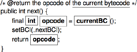 Figure 3 for Associating Natural Language Comment and Source Code Entities