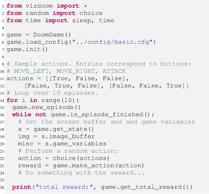 Figure 2 for ViZDoom: A Doom-based AI Research Platform for Visual Reinforcement Learning