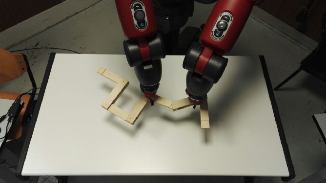 Figure 3 for Manipulation of Articulated Objects using Dual-arm Robots via Answer Set Programming