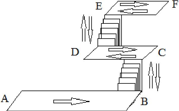 Fig. 8. Indoor test configuration.