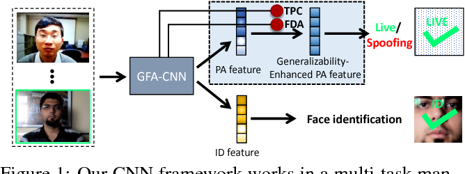 Figure 1 for Learning Generalizable and Identity-Discriminative Representations for Face Anti-Spoofing