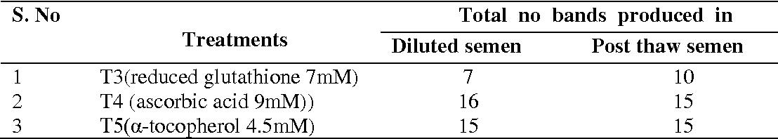 Attributes of sperm