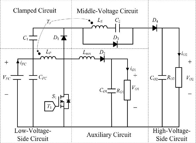 High efficiency single input multiple output dcdc converter figure 1 ccuart Choice Image